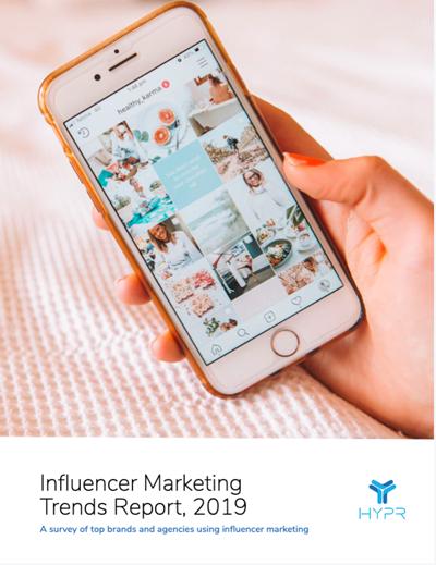 influencer trends report 2019