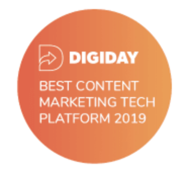 Digiday tech award