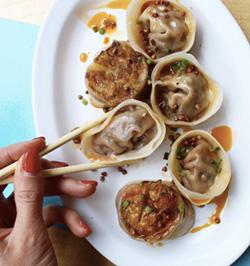 @actress_eats dumplings New york food blog
