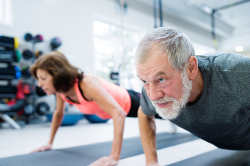 low-impact workout for seniors in Vacaville