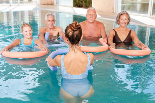 water aerobics for seniors in Vacaville