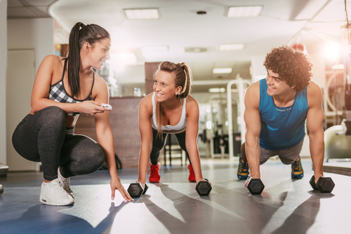 Vacaville's personal training workout