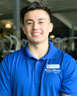 Tristan Tadano-Lonso personal trainer in Vacaville