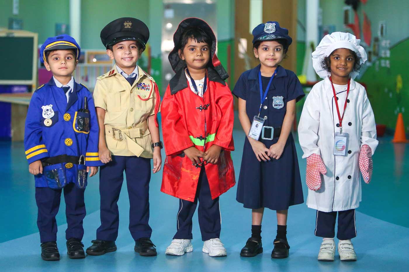 Pre-Primary School Students at GIIS Dubai