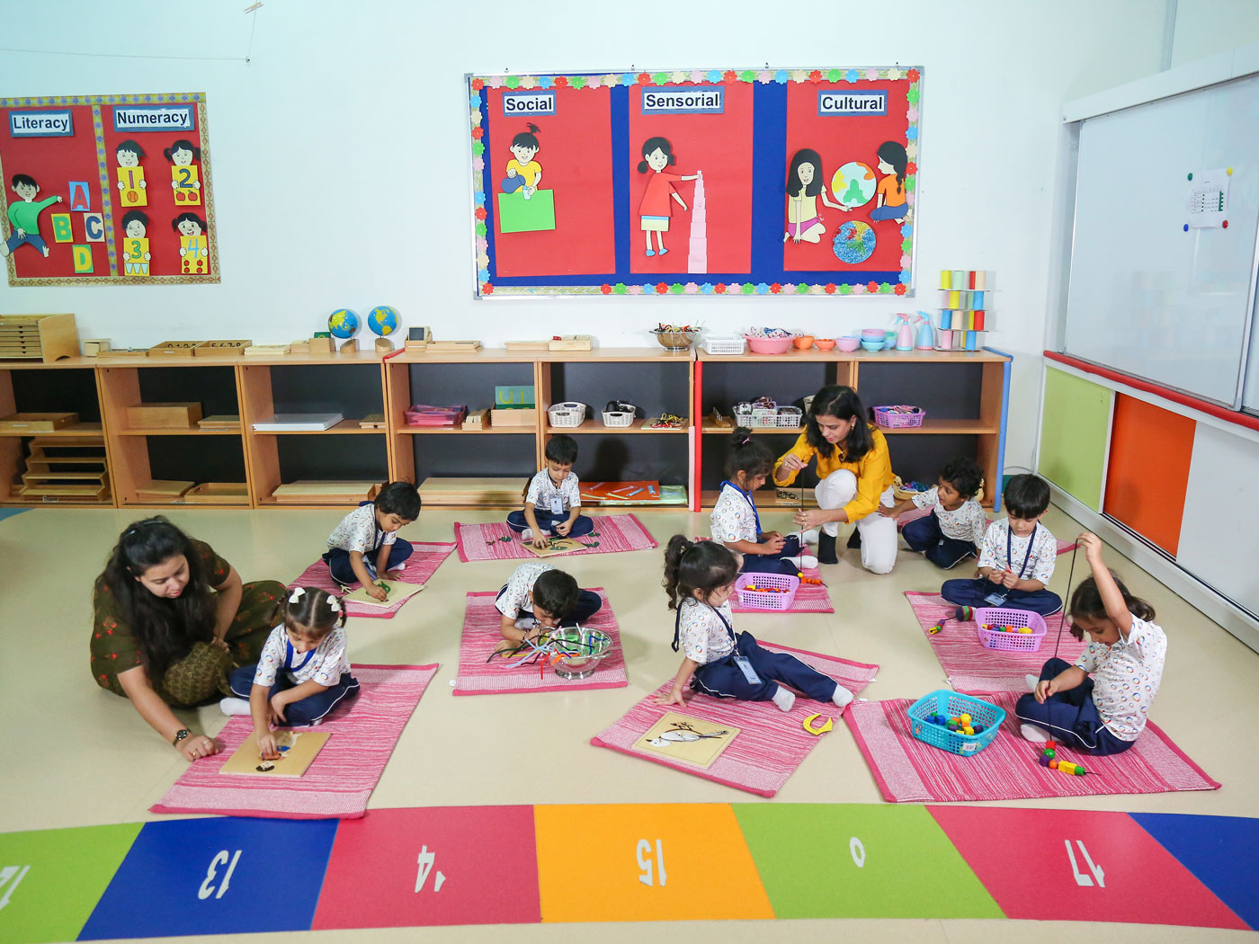 Global Montessori Programmes at GIIS Dubai