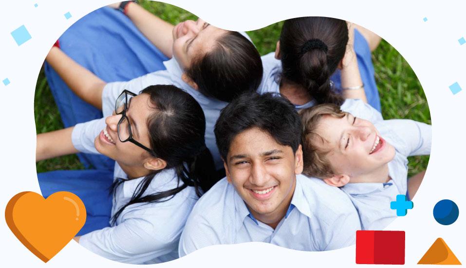 High School Students at GIIS Dubai