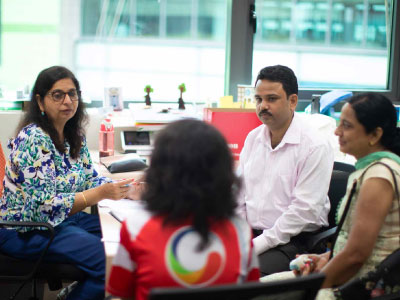 GIIS Faculty counselling Parents and Student