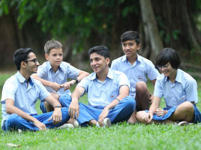 High School Students Happy at GIIS Dubai. Happiness Index Framework