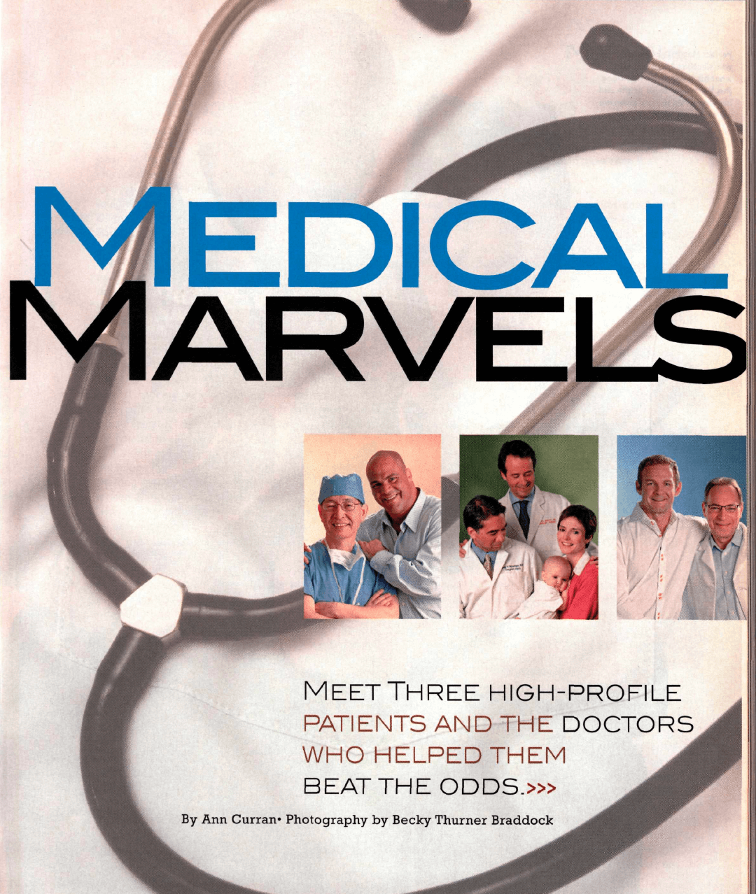 Medical Marvels - Pittsburgh Magazine May 2007 Cover Story
