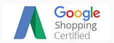 Certified Google Shopping Parntner Badge