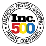 Inc 500 America's Fastest Growing Companies badge