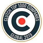 Clutch Top 1000 Companies logo