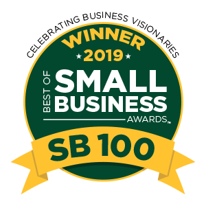 Award for the Best of Business 2019 for SB100