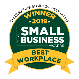 Award for the Best of Business 2019 for Best Workplace