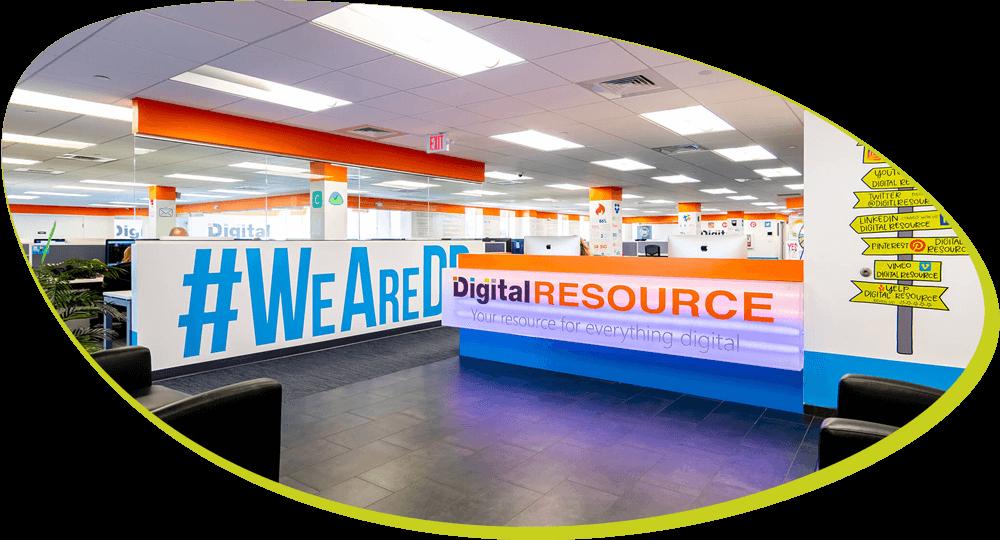 Digital Resource reception area