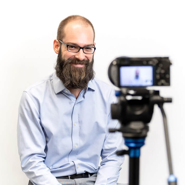 Account Manager posing for a company headshot