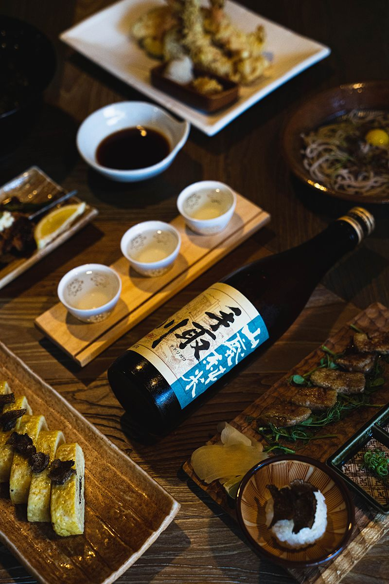 Kikue Hawaii - Japanese izakaya featuring homemade soba noodles