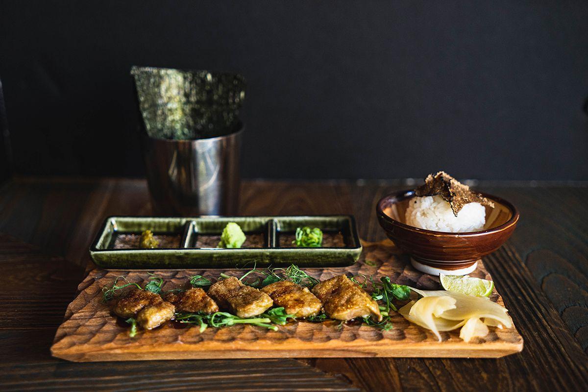 pork belly - Kikue, Japanese restaurant located in Kailua