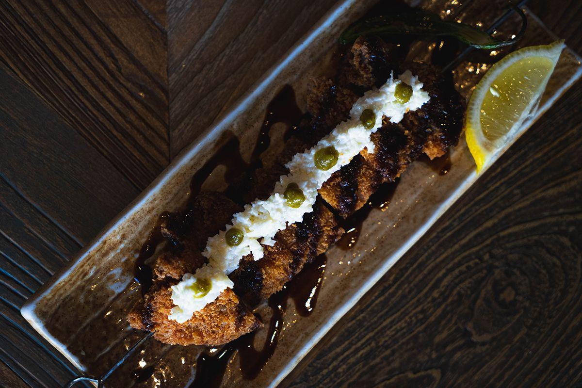 Tonkatsu - fried panko crusted pork filets - Kikue Hawaii