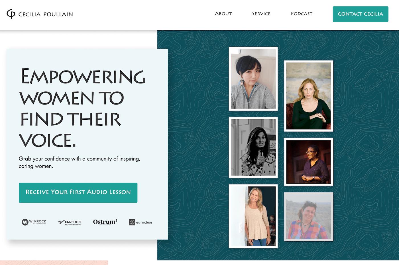 brave new women website screenshot
