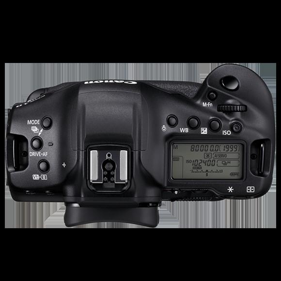 Canon 1DX Mark III Top