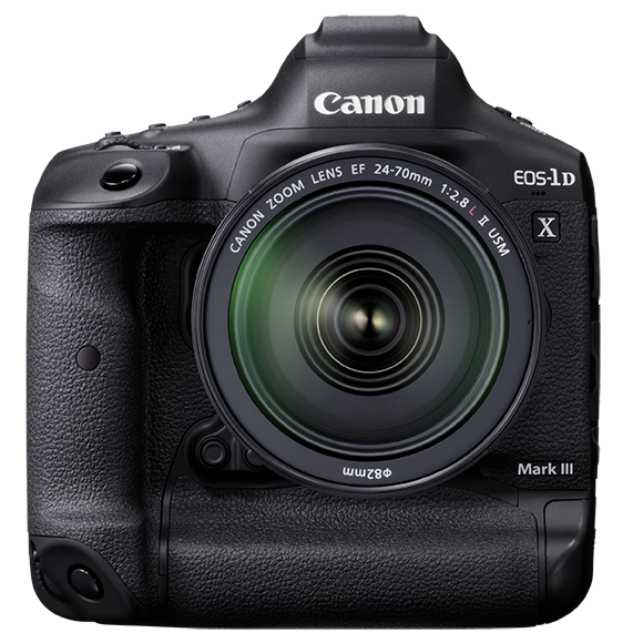 Canon 1DX Mark III Front