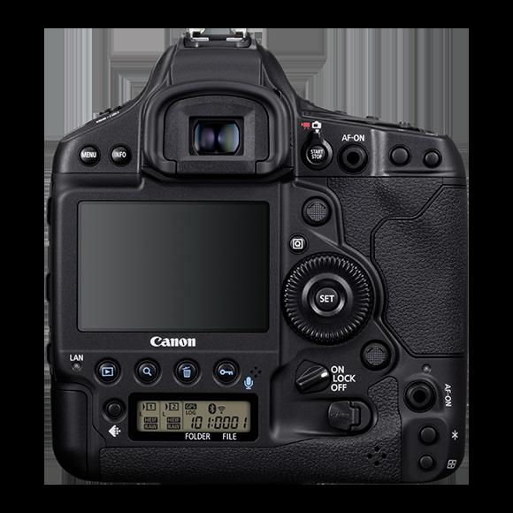 Canon 1DX Mark III Back