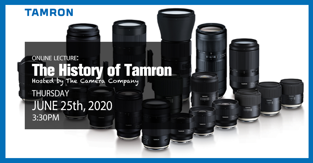 FREE Online Class - The History of Tamron with Q&A