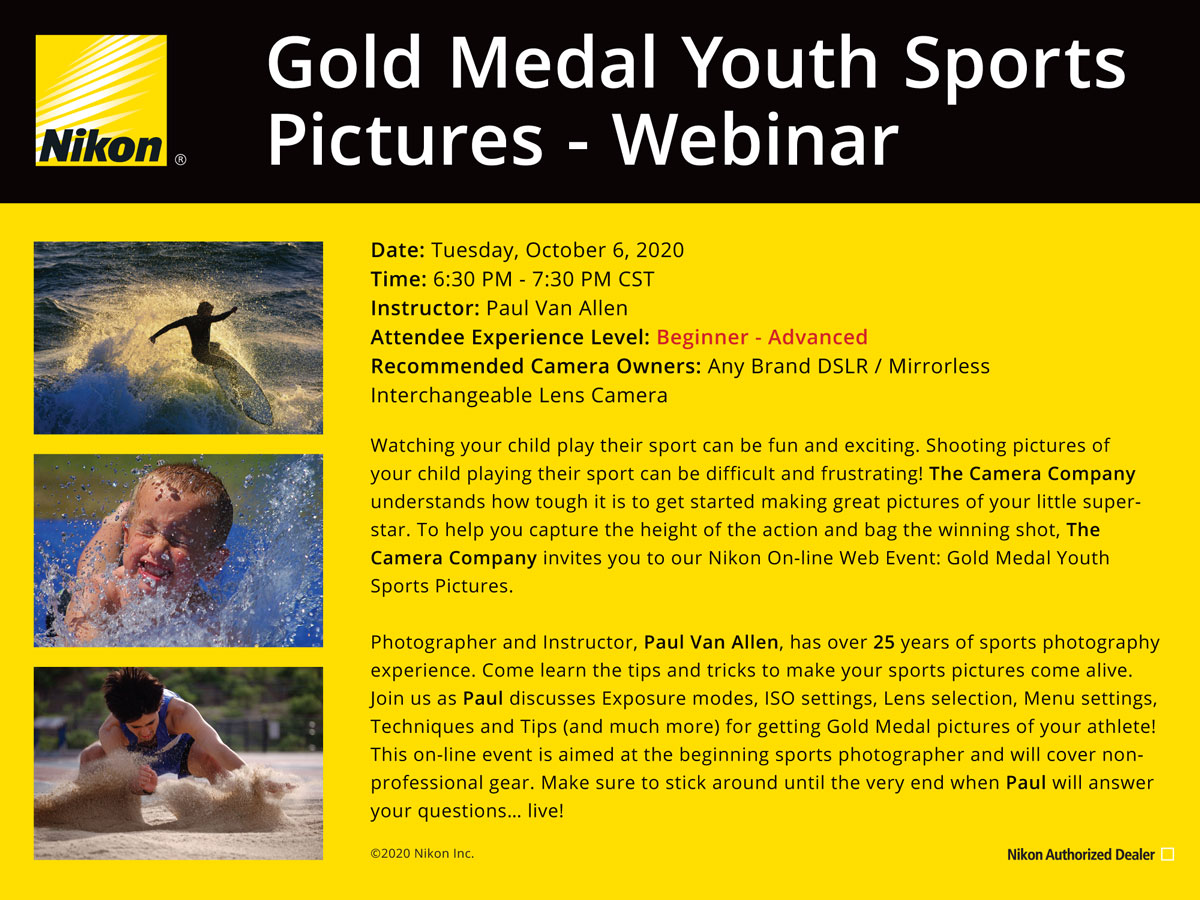 Gold Medal Youth Sports Photography