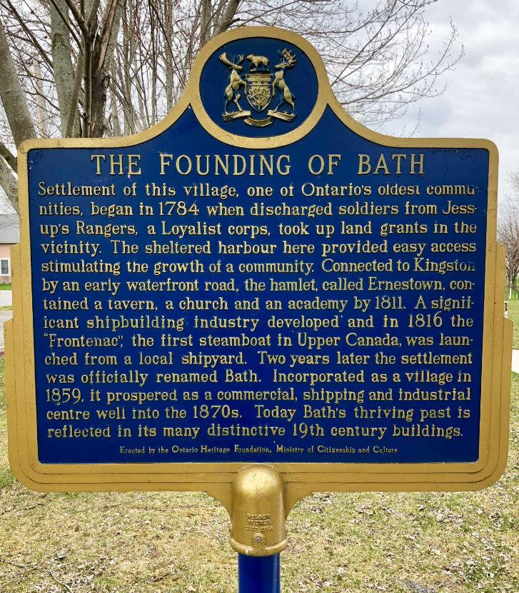 Founding of Bath