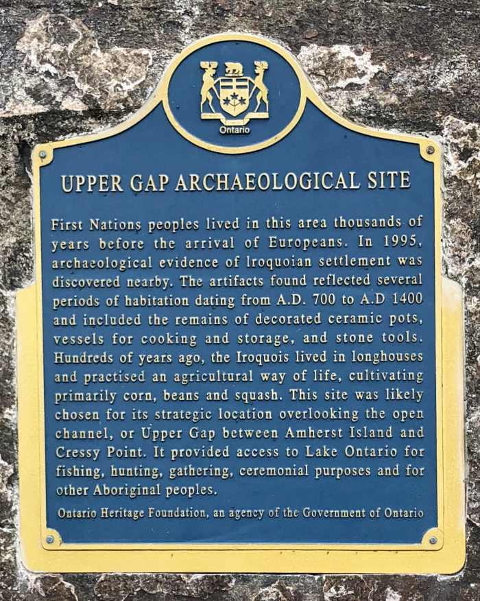 Upper Gap Archaeological Site