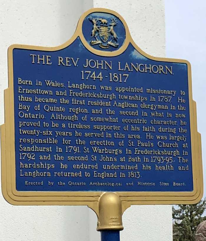 The Reverend John Langhorn 1744-1817