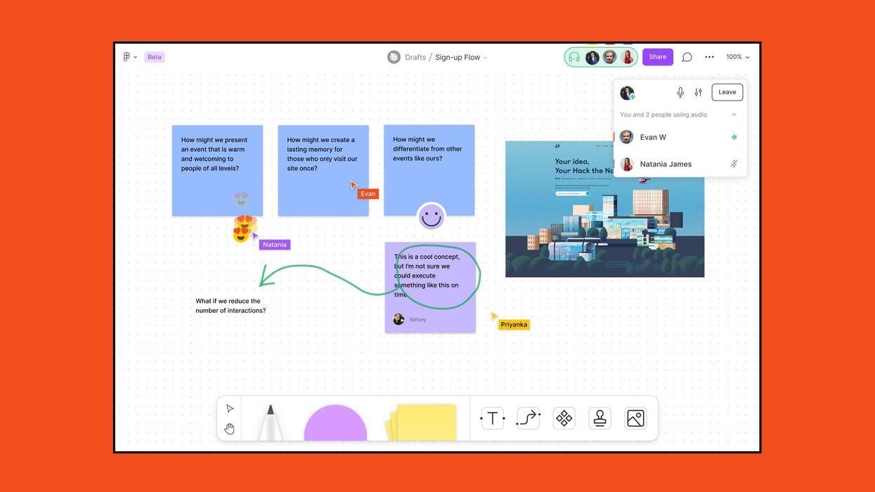 Increase virtual meeting engagement on FigJam