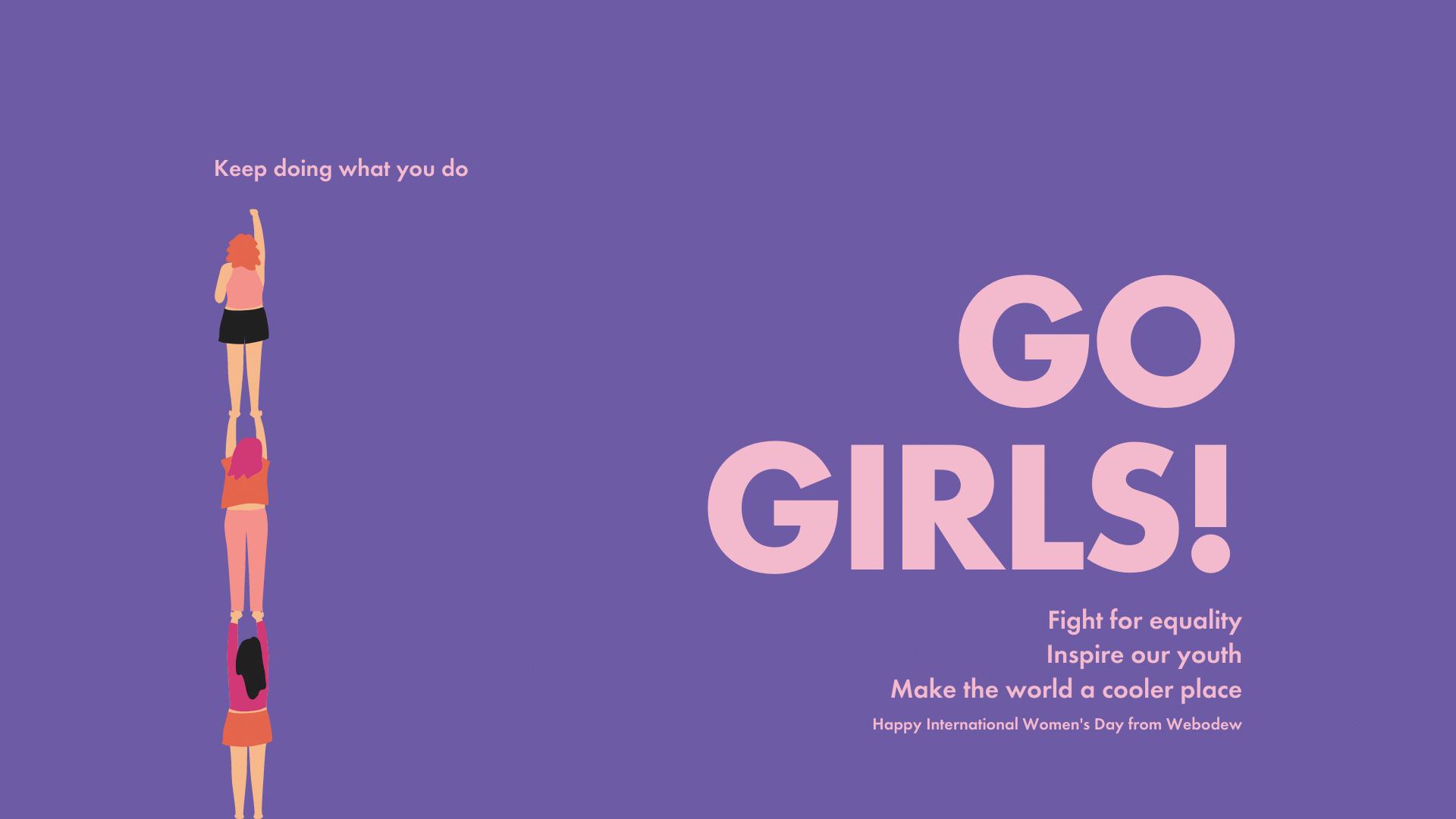 International Women's Day 2021 - Fight. Inspire. Cooler