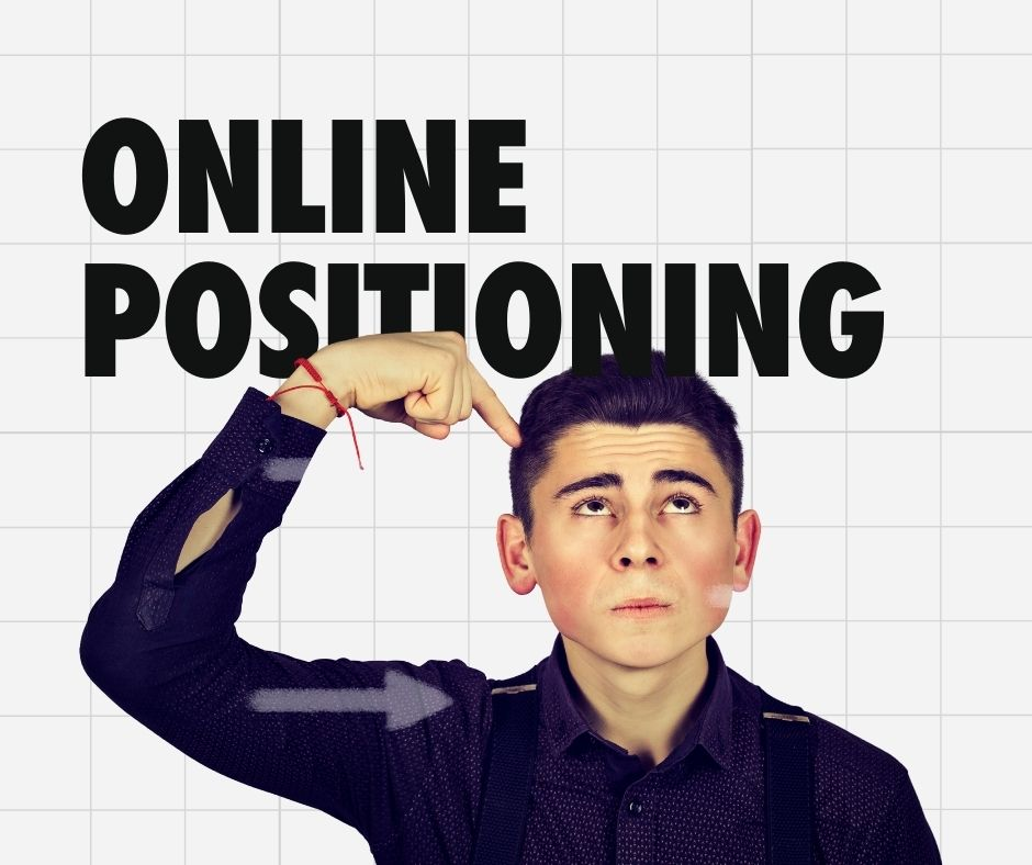 Rethink Positioning Online - Economic Product vs Personality