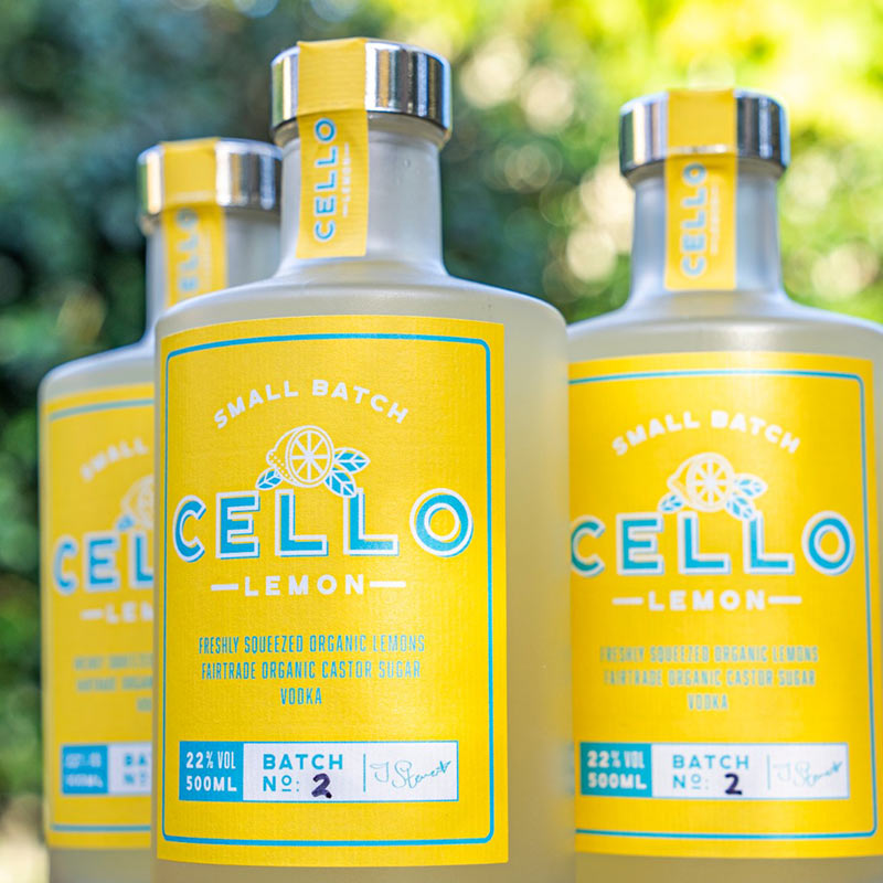 Cello bottles