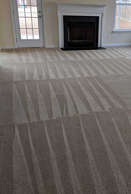 carpet cleaning project in summerville