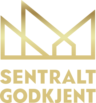 Logo for sendtral godkjenning.