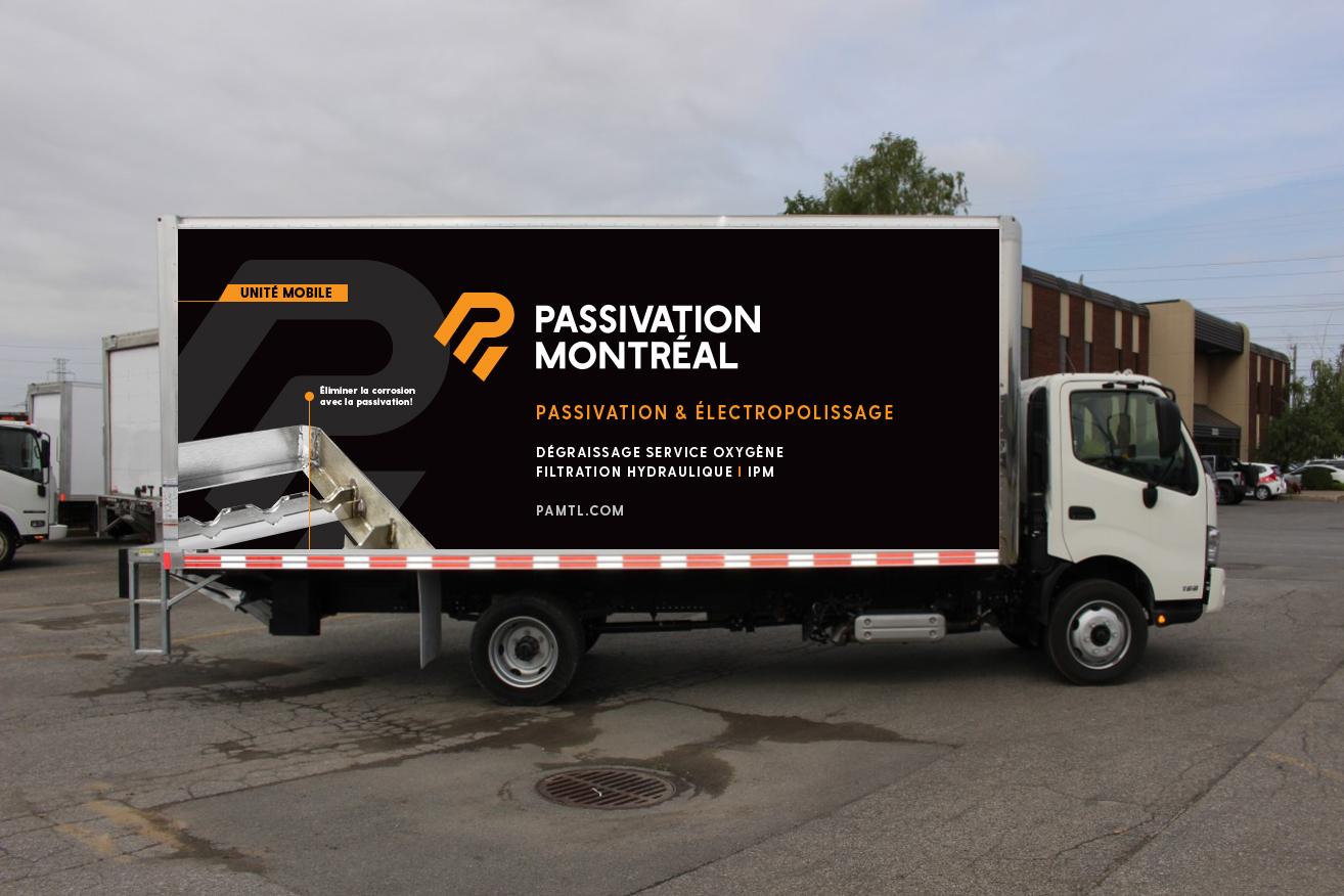 Passivation Montréal - Unité Mobile