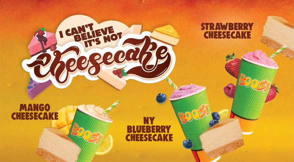 Boost Juice - I Can't Believe It's Not Cheesecake