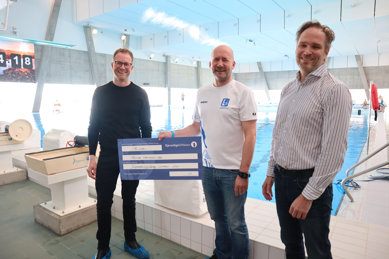 Gjensidigestiftelsen støtter Tromsø Svømmeklubb