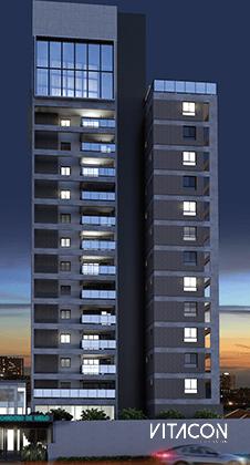 Modelo 3D do edifício VN C. de Melod