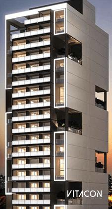 Modelo 3D do edifício VN G. de Carvalho