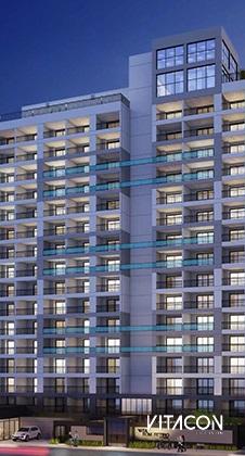 Modelo 3D do edifício VN Bom Retiro