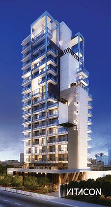 Modelo 3D do edifício VN A. Rodrigues