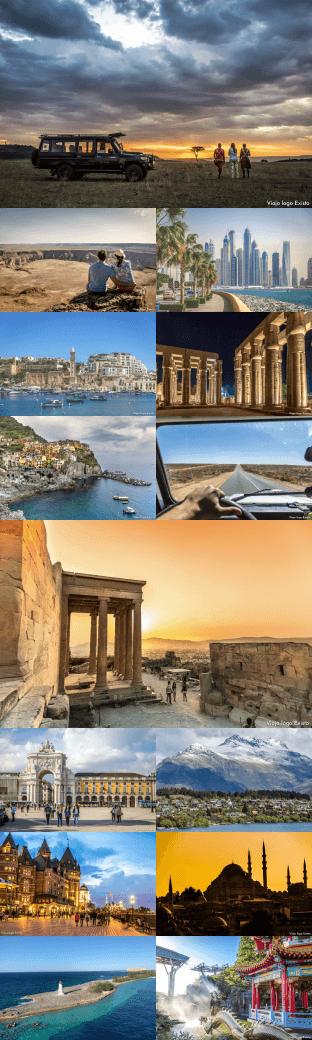 Fotos de viagens pelo mundo - Easynvest