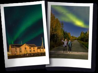 Fotos Viajo logo existo Aurora Boreal