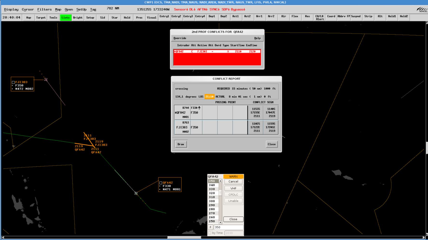 Aurora ATM Medium-Term Conflict Deterction (MTCD)