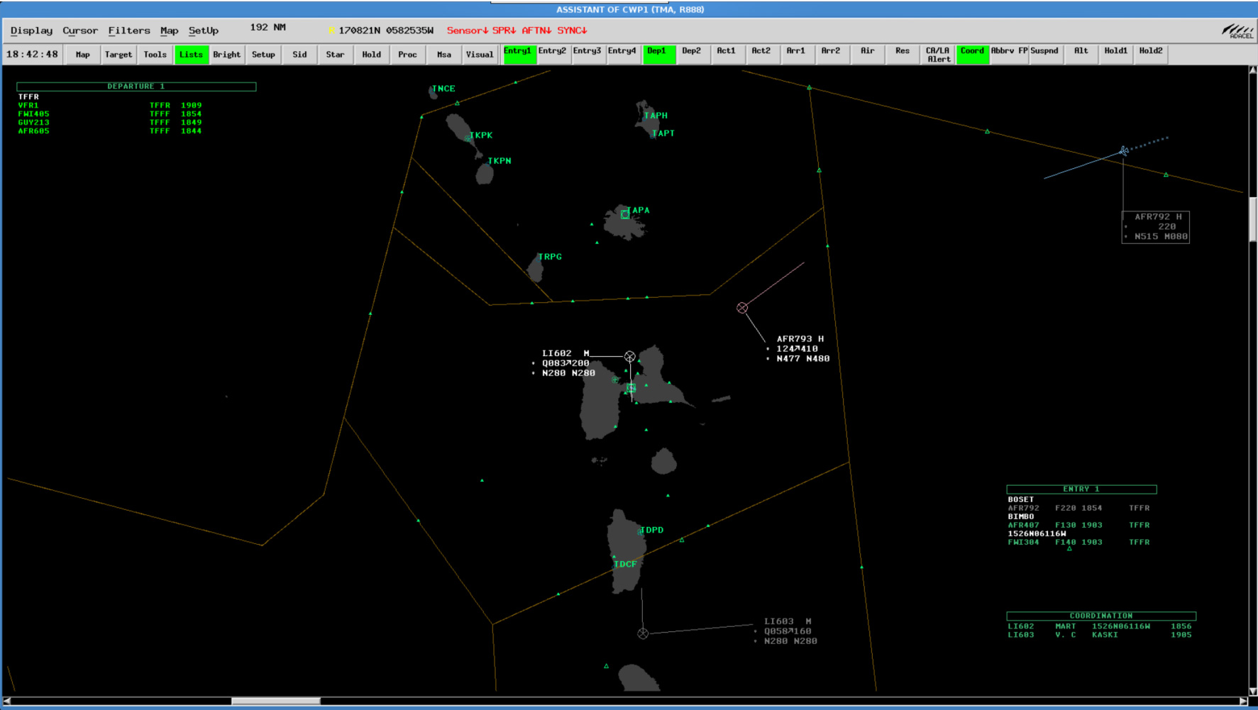 Aurora ATM Airspace Situation Display