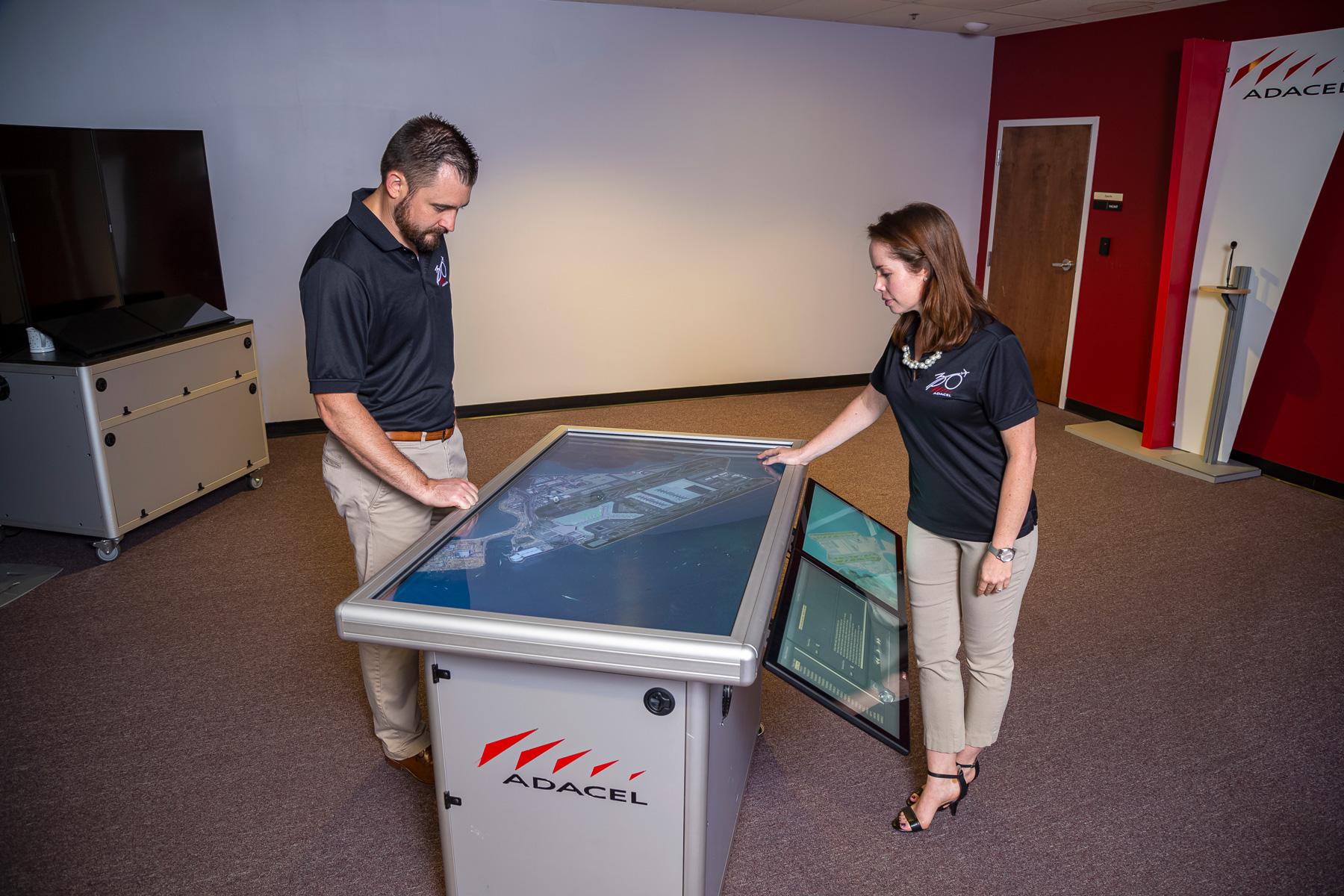 MaxSim ATC enhanced air traffic control training